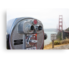 Lookout San Francisco Canvas Print