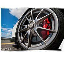 Porsche 911 GT3 Poster