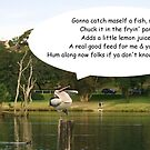 Song & dance pelican by Michael Matthews