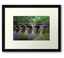 Withypool Bridge Framed Print