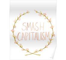Smash Capitalism- Variation 2 Poster