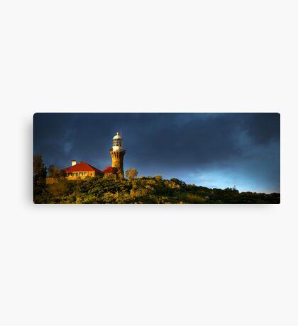 Barrenjoey Lighthouse at dusk Canvas Print