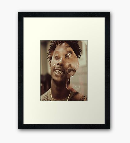 Awful Records Framed Print