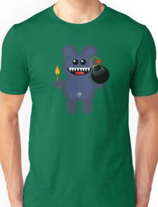 BEAR 4 (Cute pet has a bomb and its alight!) Unisex T-Shirt