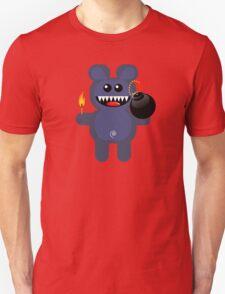 BEAR 4 (Cute pet has a bomb and its alight!) Unisex T-Shirt