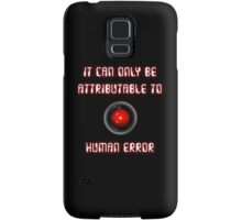 HAL 9000: Human Error Samsung Galaxy Case/Skin