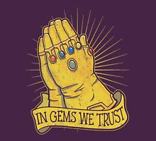 In Gems We Trust Unisex T-Shirt