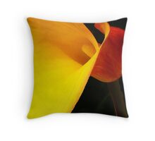 Zantedeschia! Throw Pillow