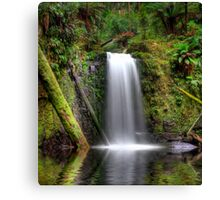 HDR Waterfall Paradise Canvas Print