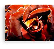 Red O'Hara Canvas Print