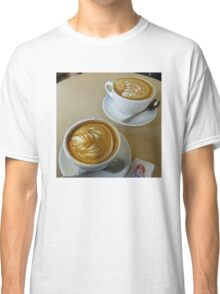 Two Lattes, Please Classic T-Shirt