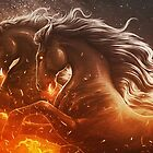 Fire with Horses by Lukas Brezak