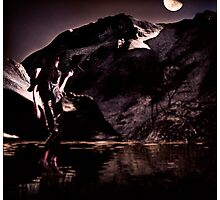 By the Moon Photographic Print