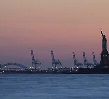 Sunset Liberty by James Ogle