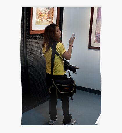 The Nikon Girl... Poster