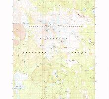 USGS Topo Map Oregon Broken Top 279148 1988 24000 by wetdryvac