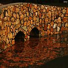 'Millbrook Bridge Reflections' by Brien Bland
