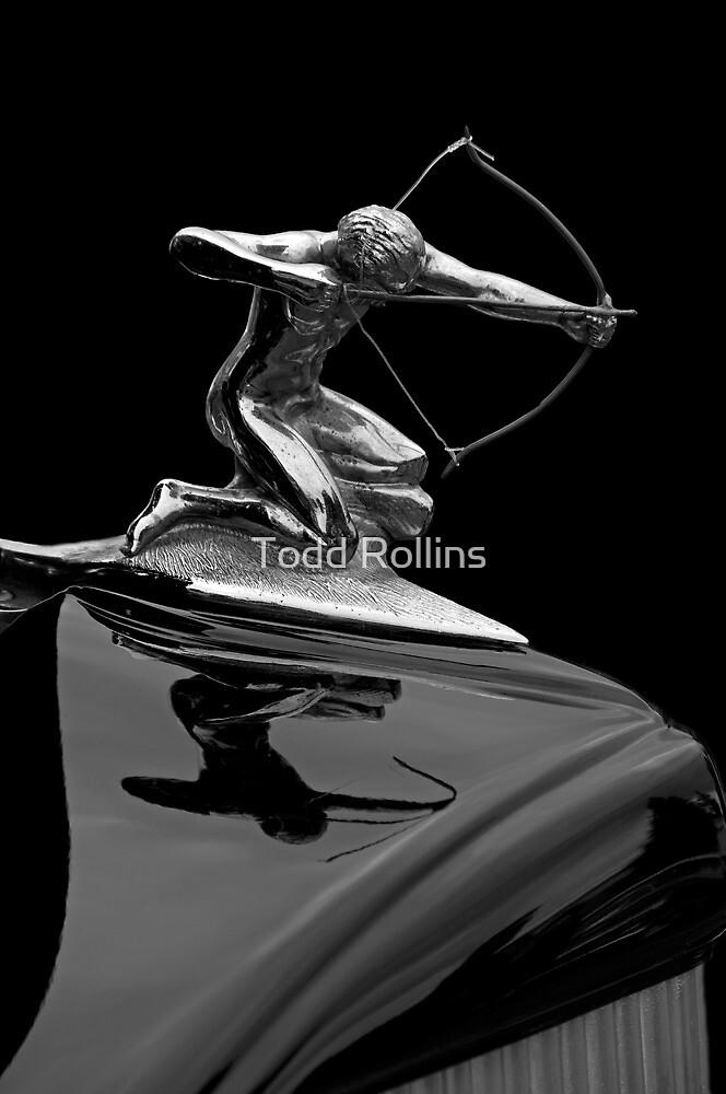 1935 Pierce Arrow. by Todd Rollins