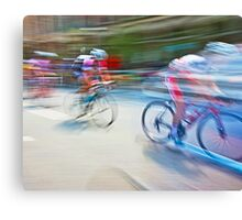 The Bicycle Race 01 Canvas Print