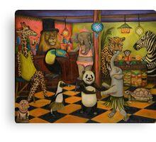 Zoobar Canvas Print