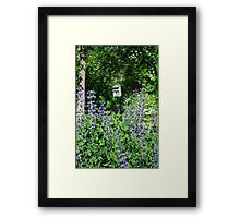 Location is everything Framed Print