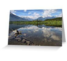 Vermillion Lakes, Banff, Alberta, Canada Greeting Card