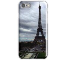 Tour Eiffel from Trocadero iPhone Case/Skin