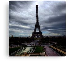 Tour Eiffel from Trocadero Canvas Print
