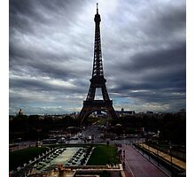 Tour Eiffel from Trocadero Photographic Print