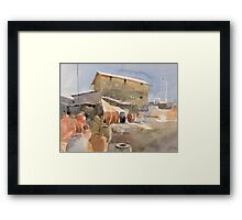 Village House 2 Framed Print