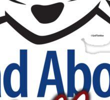 Mad About Walker Sticker