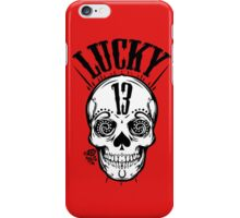 Lucky 13 iPhone Case/Skin