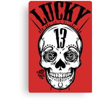 Lucky 13 Canvas Print