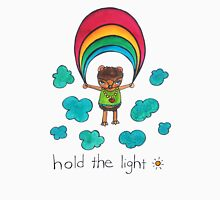 Hold the Light: Cute Hedgehog Watercolor Illustration Women's Tank Top