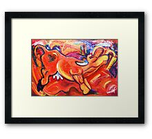 unstoppable Framed Print