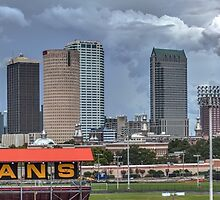 Panorama shot of Tampa, Florida by Edvin  Milkunic