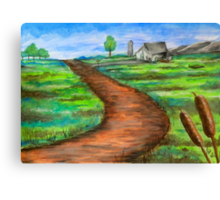 """The Dirt Road"" Canvas Print"
