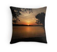 Lake Barkley Sunset Throw Pillow