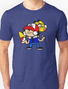 Ash and Pikachu.  T-Shirt