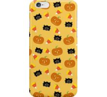 Cats and Pumpkins iPhone Case/Skin