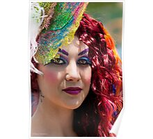 Portraits from The 2011 Coney Island Mermaid Parade-22 Poster