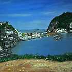 Ischia, St Angelo, Italy by Tricia Winwood