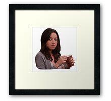 April Ludgate Framed Print