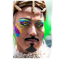 Portraits from The 2011 Coney Island Mermaid Parade-19 Poster