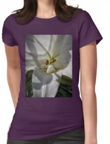 Up Close and Personal Womens Fitted T-Shirt