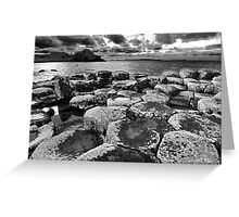 Giants Causeway - Co. Antrim, Northern Ireland. Greeting Card