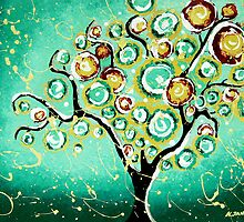 Turquoise Tree of Life by hjmart