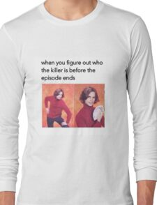 All figured out! Long Sleeve T-Shirt