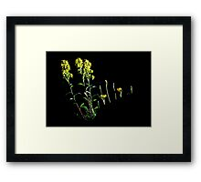 "Just saying, "" 'ELLO "" Framed Print"