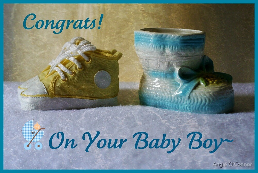 It's A Boy! by Angie O'Connor